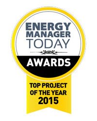 Energy Manager Today Award - Top Project of the Year 2015