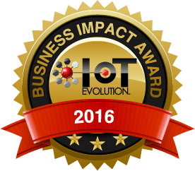 IoT Evolution Business Impact Award 2016