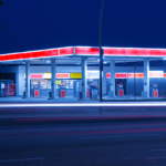 C-Store-with-Fuel-at-Night