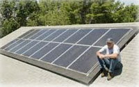 Chewonki solar panels