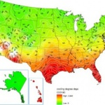 U.S. cooling zone map