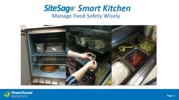 SiteSage Smart Kitchen Webinar