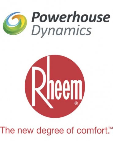 Rheem, Powerhouse Dynamics Partner for Online HVAC Management